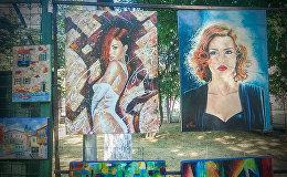 Что рисуют грузинские художники: наглядно о современном творчестве