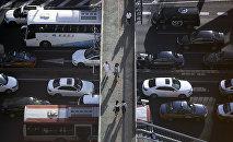 Одна из коммерческих автомобильных трасс в Китае