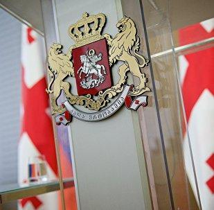 Правительство Грузии - зал для проведения брифингов