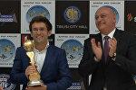 Гимн России по ошибке включили в Тбилиси на Кубке мира по шахматам