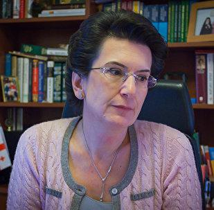 Лидер партии Демократическое движение - Единая Грузия Нино Бурджанадзе