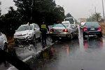 Авария на трассе у Тбилисского моря