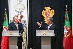 Георгий Маргвелашвили с Марселу Ребелу ди Соза