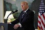 Президент США Дональд Трамп комментирует ситуацию в Лас-Вегасе