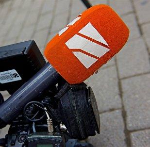"""ტელეკომპანია """"რუსთავი 2""""-ის მიკროფონი"""