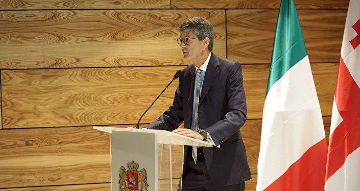 Заместитель министра экономического развития Италии Иван Скалфаротто