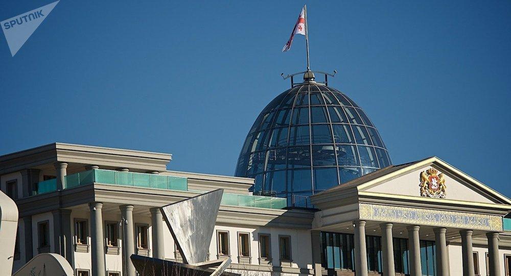 Дворец президента Грузии в районе Авлабари