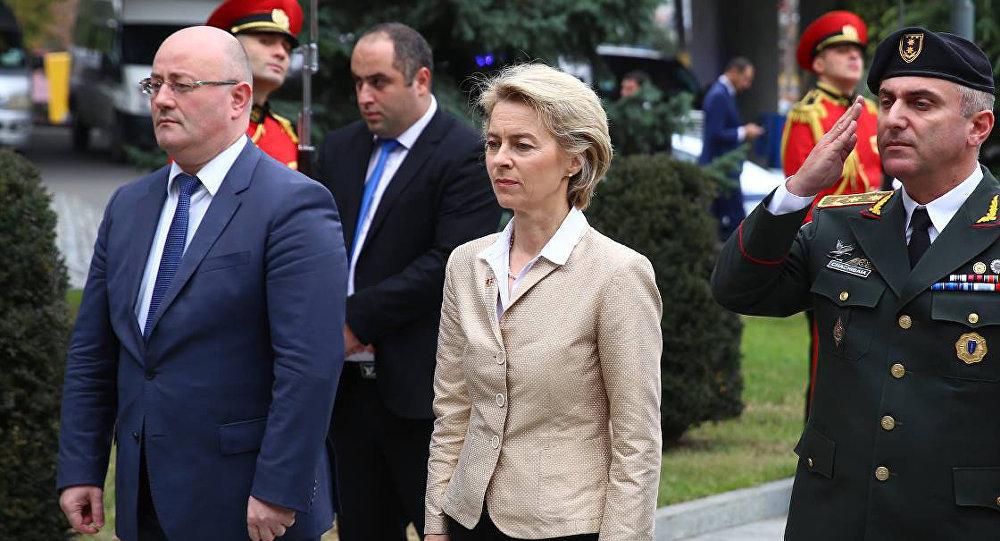 Грузия иГермания усилят сотрудничество всфере обороны