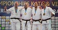 Грузинские дзюдоисты выиграли чемпионат мира среди ветеранов