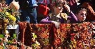 Дети на празднике Тбилисоба