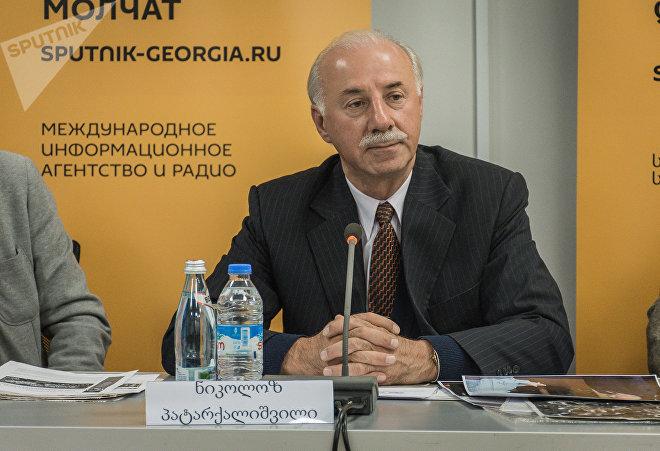 Николоз Патаркалишвили, председатель Международной ассоциации культурного и делового сотрудничества Дом Аргентины в Грузии