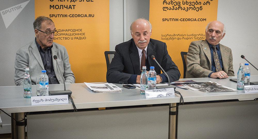 თბილისში ახალგაზრდული ნაკრებების ტურნირის ჩატარების ინიციატორთა პრესკონფერენცია