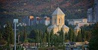 Сабурталинское кладбище в грузинской столице