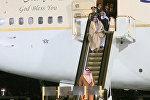 Сломавшийся трап самолета у короля Саудовской Аравии во время визита в Москву