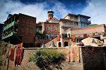 Исторические дома в Тбилиси в день Тбилисоба 2016