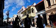 Квартал Новый Тифлис во время празднования Тбилисоба