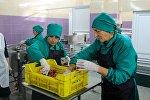 Завод по переработке мяса и рыбы