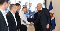 Глава МВД Грузии Георгий Мгебришвили встретился с победителями Всемирных игр полицейских и пожарных