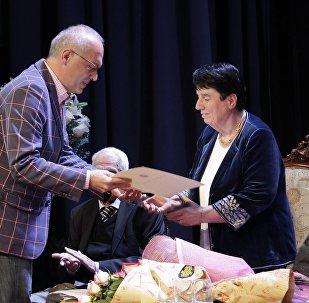 Шахматистка Нона Гаприндашвили стала почетным гражданином Зугдиди