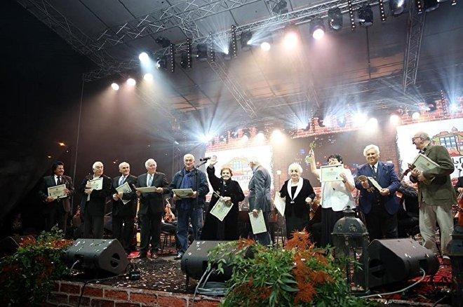 Церемония присвоения звания Почетного гражданина Тбилиси