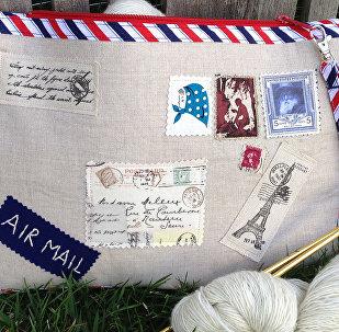 Необычный конверт с письмом