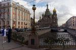 Собор Воскресения Христова и канал Грибоедова в Санкт-Петербурге