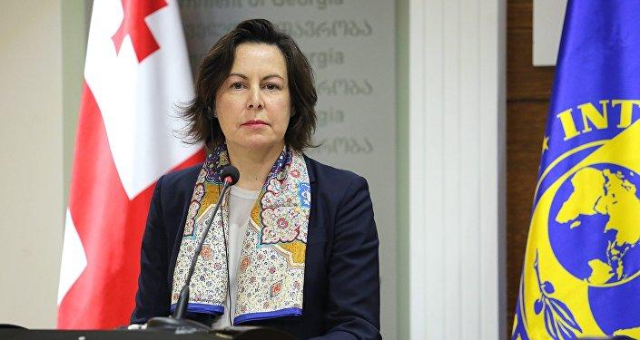 Глава миссии МВФ в Грузии Мерседес Вера-Мартин