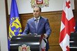 Первый вице-премьер, министр финансов Грузии Дмитрий Кумсишвили
