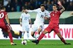 Футбол. Сборные Грузии и Сербии
