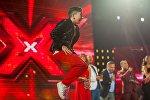 Участник Евровидения Григол Кипшидзе выступает в программе X-factor