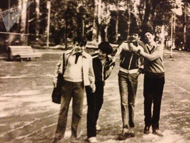 Георгий Гонгадзе в детстве
