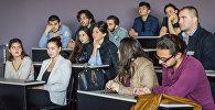 Грузинские участники ВФМС во время встречи в Тбилиси