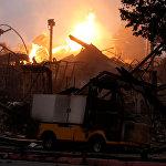 В связи с пожарами в штате Калифорния объявлено чрезвычайное положение