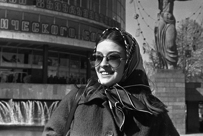 Грузинская актриса Лика Кавжарадзе