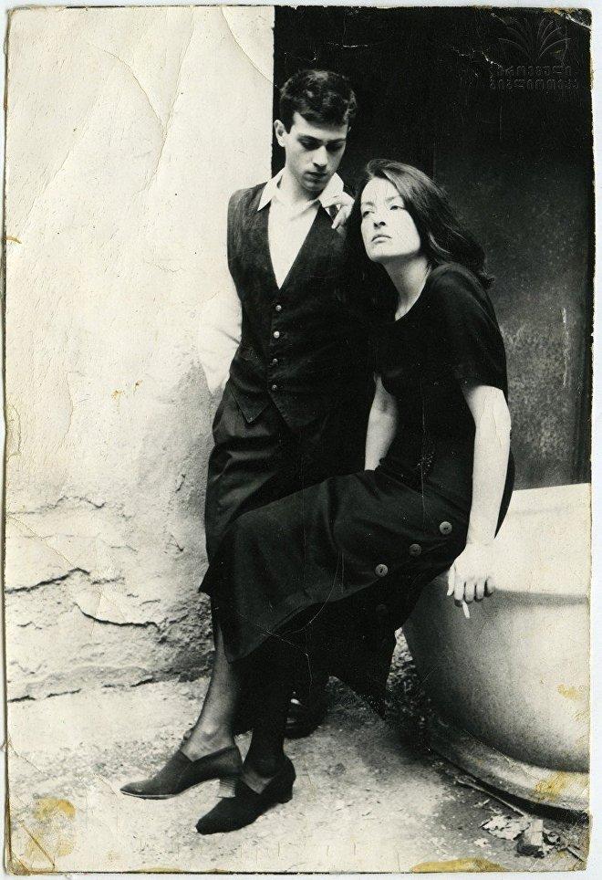Шота Каландадзе и Лика Кавжарадзе