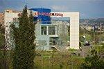 Здание управления полиции в Ваке-Сабурталинском районе столицы Грузии