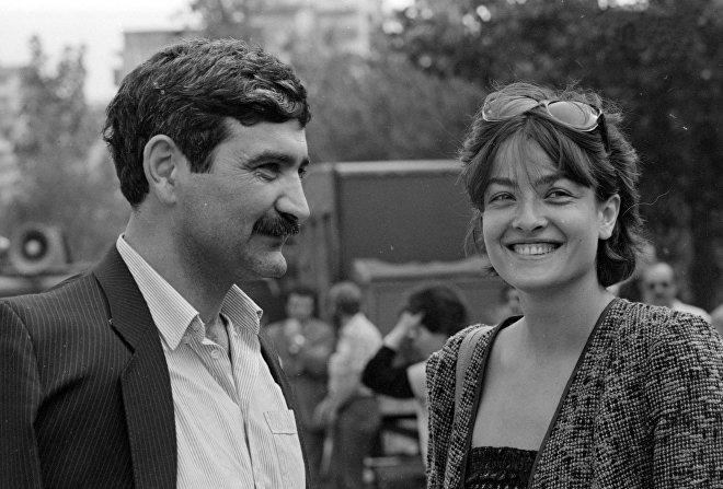 Лика Кавжарадзе и Георгий Шенгелия