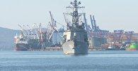 Японская учебная эскадра прибыла во Владивосток