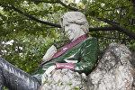 ოსკარ უაილდის ძეგლი დუბლინის Merrion Square park-ში