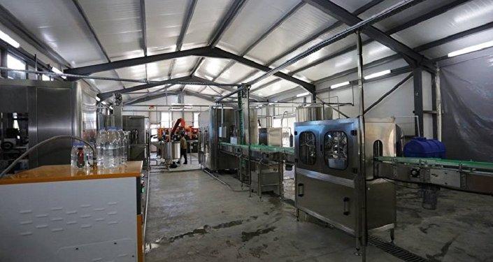 Завод по разливу пресной воды открылся в Амбролаури