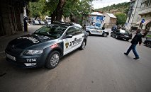 Патрульная полиция в районе Сололаки