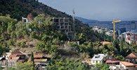 Строительство новых жилых домов в грузинской столице