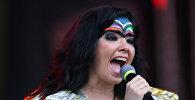 Исландская певица Бьорк