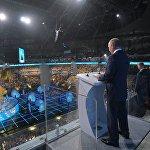 До последнего сохранялась интрига – приедет ли на открытие президент РФ Владимир Путин. В кулуарах говорили, что просто будет зачитано его приветствие. И какого же было удивление зала, когда ведущий объявил выступление президента РФ