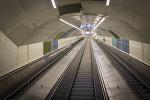 Эскалаторы для выхода из метро Тбилиси