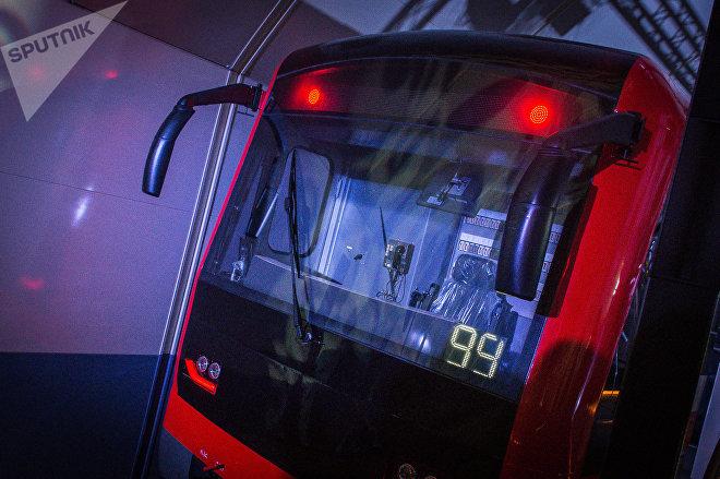 Поезд метро Тбилиси
