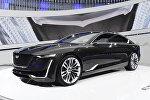 Cadillac Escala в первый день Женевского международного автосалона в Женеве