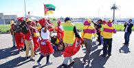 Танцующий Сочи: африканская делегация зажгла на Фестивале молодежи