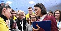 თინა კანდელაკი ახალგაზრდობის საერთაშორისო ფესტივალზე