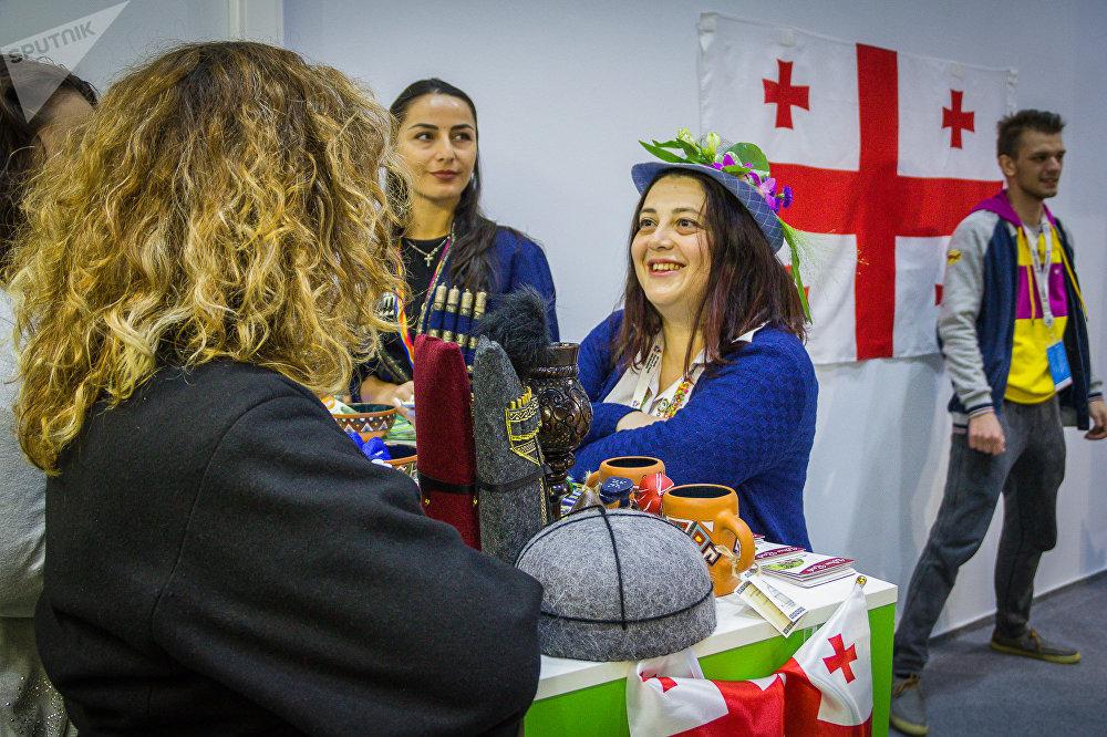 ქართული სტენდი ფესტივალზე